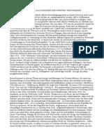 Die Waehrungspolitik Als Ausloeser Des Zweiten Weltkrieges