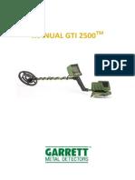 Manual GTI 2500