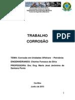 Corrosão Em Unidades Offshore