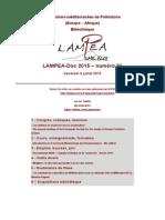 LAMPEA-Doc 2015 – numéro 21 / Vendredi 3 juillet 2015