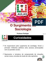 1- Surgimento Da Sociologia