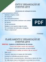 Resumo Dos Serviços - Organização de eventos