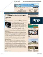 3.7.2015, 'Un Po' Di Liberty Alla Biennale Della Fotografia', Il Sole 24 ORE