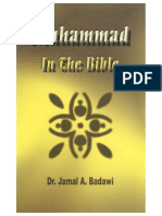 Prophet Muhammad in the Bible by Dr. Jamal Badawi