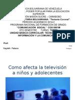 Como Afecta La Televisión a Niños y Adolecentes