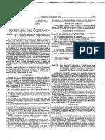 Real Decreto 1808-1991 Numero de Lote