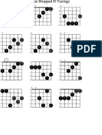 Guitar(Dropped d) Chords f