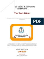 SEC, Udo Udoma & Corporate Governance - Fact File 1802
