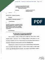 Silvers v. Google, Inc. - Document No. 105