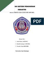 Tugas Sistem Penggerak Industri