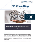 MNS Quality of Experience Whitepaper