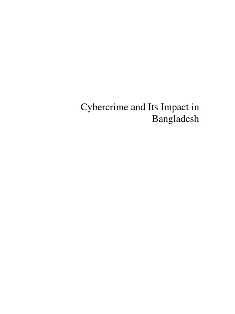 Any ideas on a topic, to do with cyber-crime, which I can focus my dissertation on?