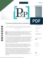 Un Sistema de Partidos Políticos en Decadencia… _ Plaza Pública
