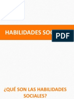 PPT HABILIDADES SOCIALES