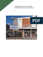 Plan de Emergencia y Evacuacion Rosales de Nueva Castilla