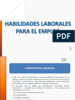PPT Hábitos laborales