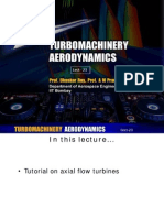 Axial flow turbines