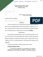 Campas v. United States of America - Document No. 2