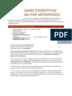 Enfermedades Zoonóticas Producidas Por Artrópodos