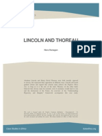 Lincoln&Thoreau