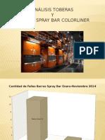 Toberas y Spray Bar Colorliner