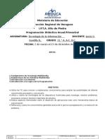 programacion anual 2015 xi tec info