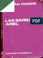 Las Barbas de Ariel. Román Foderé