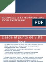 Naturaleza de La Responsabilidad Social Empresarial