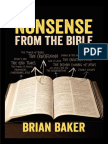 Brian Baker - Nonsense From the Bible