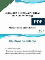 Licitações de Obras Públicas