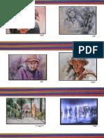 Identidades y Costumbres de Apurímac mediante la técnica de la acuarela