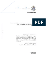 Technical and Economic Assessment of Medium Sized Solar-Assisted Air-Conditioning in Brazil