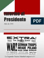 Informe Al Presidente