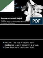 Politics of Population Control-By Imran Ahmad Sajid-18!02!2010