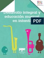 Desarrollo Integral y Ed Musical en Infantil