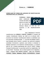 Demanda de Habeas Corpus Hco Dra Blanca Florencio x