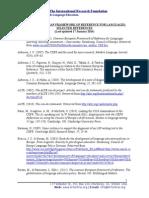 CommonEuropeanFrameworkOfReference_SelectedReferences_17January2014