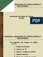 Descripcion de Equipo de Tuberia Flexible