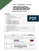 Procedimiento Cortocircuitar Los Terminales de Los TC 60kV Ensa y PEOT