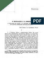 A Revolução e o Direito - A. Castanheira Neves