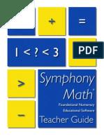Symphony Math Manual