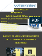 Gestion de Calidad Lab. ROEMMERS
