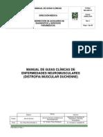 Manual de Guias Clínicas de Enfermedades Neuromusculares. Duchenne