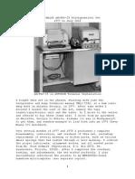 Kleinschmidt AN/FGC-25 Teletypewriter Set