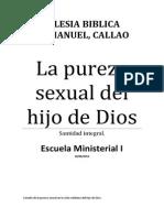El Principio de La Pureza Manual Escuela Ministerial I