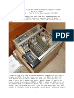 Resurrection of my MC6800-based Microcomputer