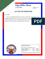 Sand Springs Elks July 2015 Newsletter