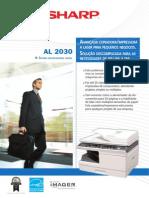 Catálogo Sharp AL 2030