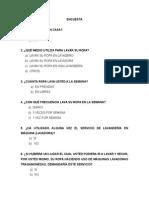 Cuestionario Del Proyecto