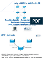 Aula 05 - MSTP_Security_HSRP